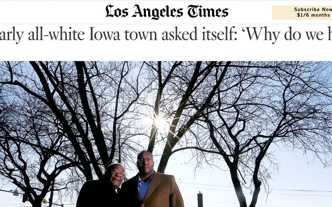 A nearly all-white Iowa town asked itself: 'Why do we hate?'